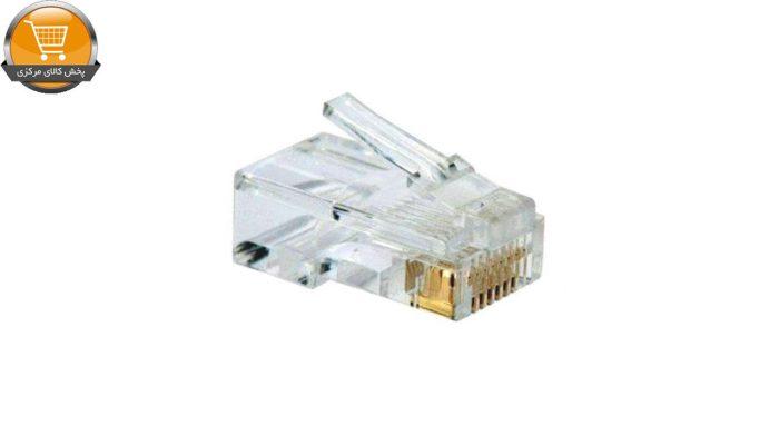 کانکتور amp 6 مدل 456 بسته 100 عددی   پخش کالای مرکزی