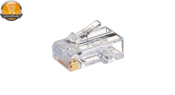 کانکتور CAT6 مدل 2000038 بسته 100 عددی   پخش کالای مرکزی