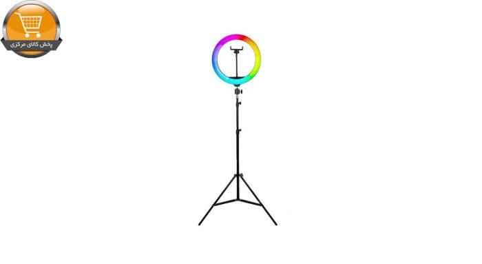رینگ لایت مدل MJ33-RGB | پخش کالای مرکزی