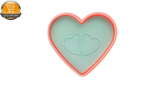 قالب شیرینی ای وی استایل مدل قلب و گل مجموعه2عددی | پخش کالای مرکزی