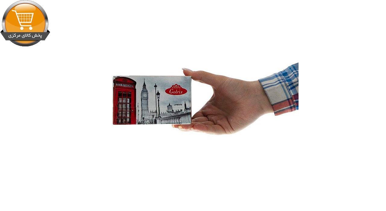 دستمال کاغذی 50 برگ گلریز مدل لندن بسته 5 عددی | فروشگاه پخش کالای مرکزی