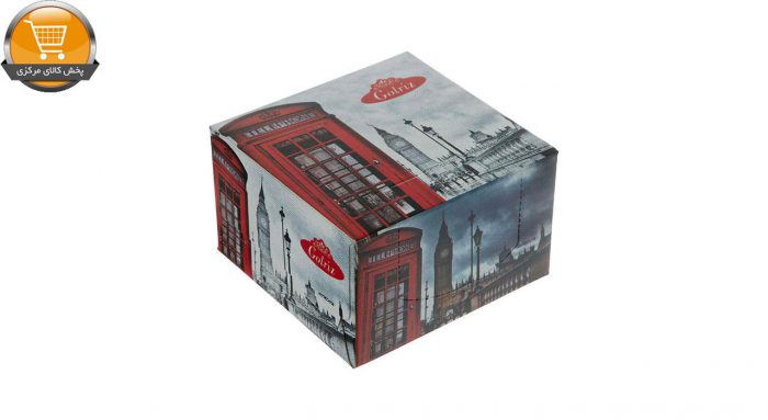 دستمال کاغذی 50 برگ گلریز مدل لندن بسته 24 عددی   فروشگاه پخش کالای مرکزی
