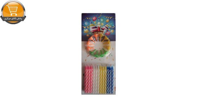 شمع تولد مدل هپی برس دی بسته 24 عددی | پخش کالای مرکزی