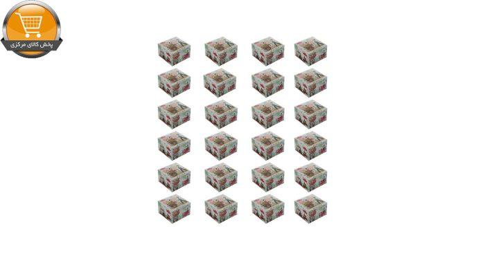 دستمال کاغذی 50 برگ گلریز مدل خاطرات كودكی بسته 24 عددی | پخش کالای مرکزی